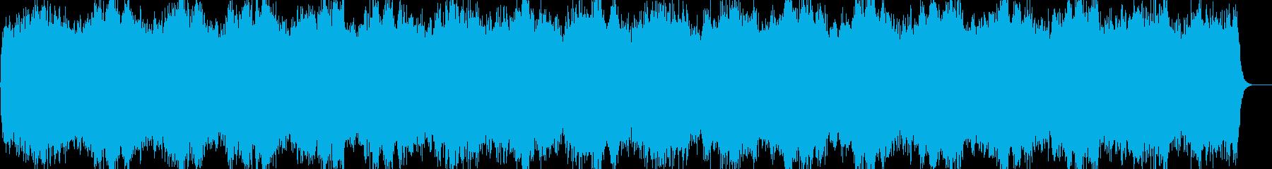 ヒーリング ピアノ 愛の周波数528Hzの再生済みの波形