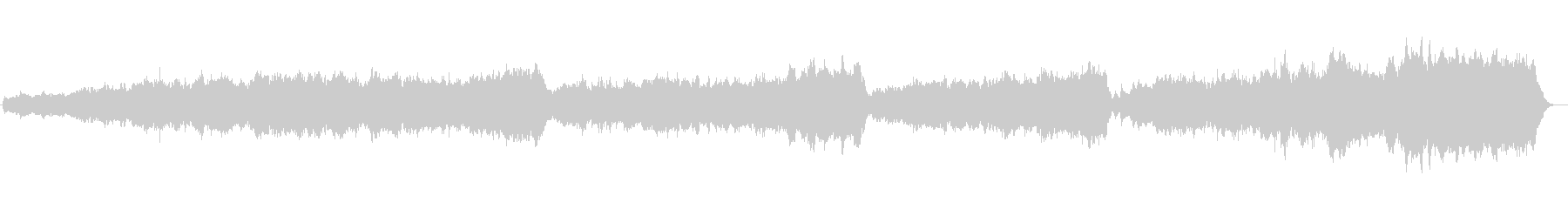 ライブ録音。教会のオルガン。神聖な音楽。の未再生の波形