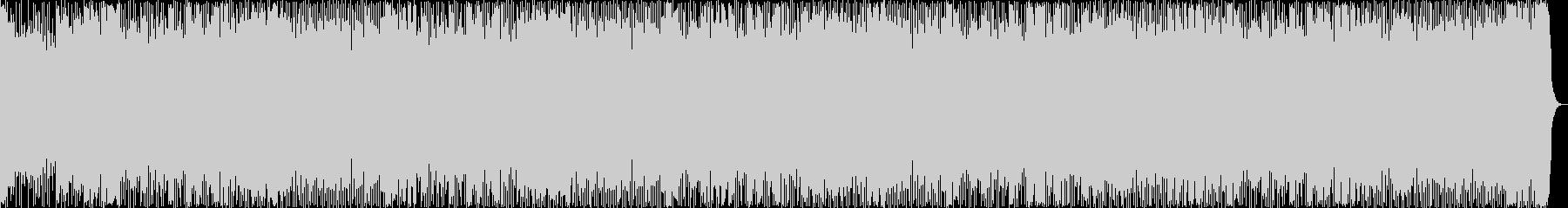 勇壮、スロー、ダークなメタルBGMの未再生の波形