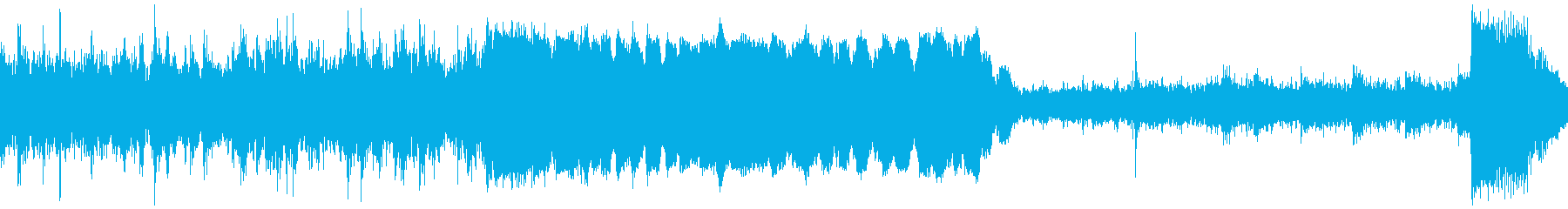 アラスカ鉄道スワード駅に到着した音の再生済みの波形