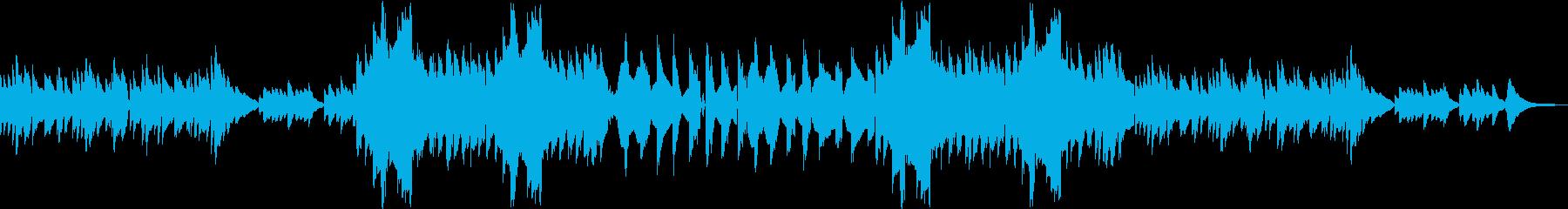 クラリネットとピアノでしっとりの再生済みの波形