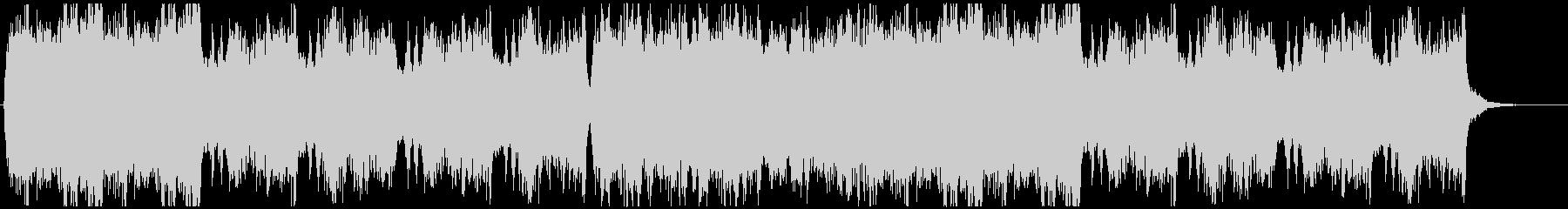 幻想的で神秘的な空間っぽいクワイア曲の未再生の波形