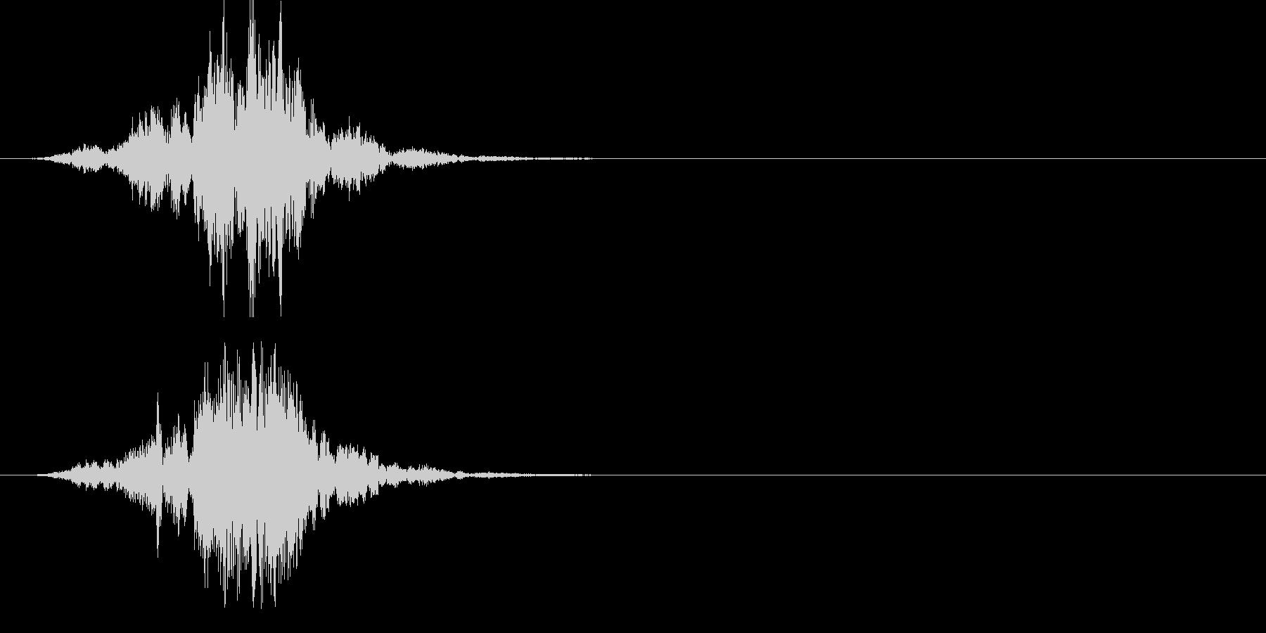 ポリポリポリポリ… です。 U…の未再生の波形
