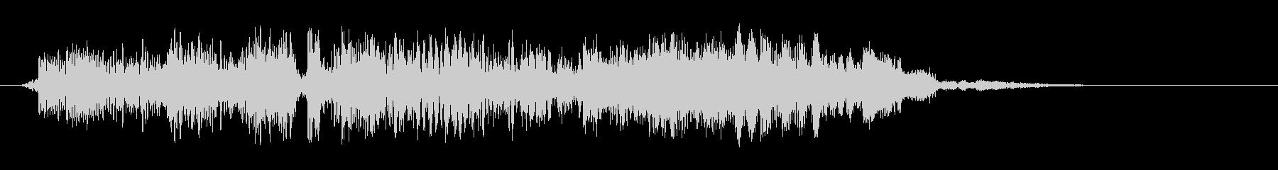 クイックスパッタリングZAP 4の未再生の波形