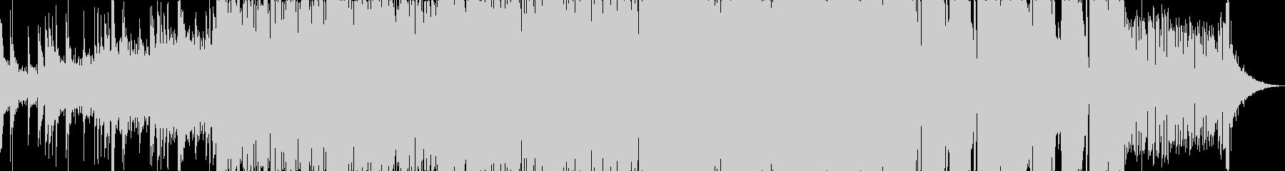 メロディックでソフトなダブステップの未再生の波形