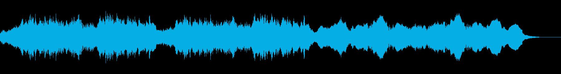 教会シーンに合う神々しいパイプオルガンの再生済みの波形