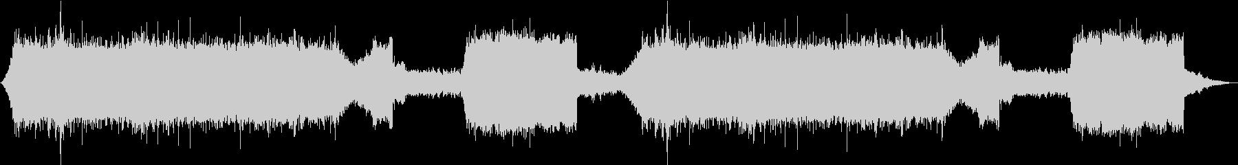 1/fゆらぎがたっぷりの自然音作品の未再生の波形