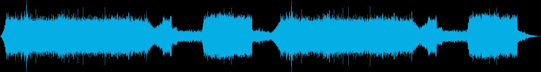 1/fゆらぎがたっぷりの自然音作品の再生済みの波形