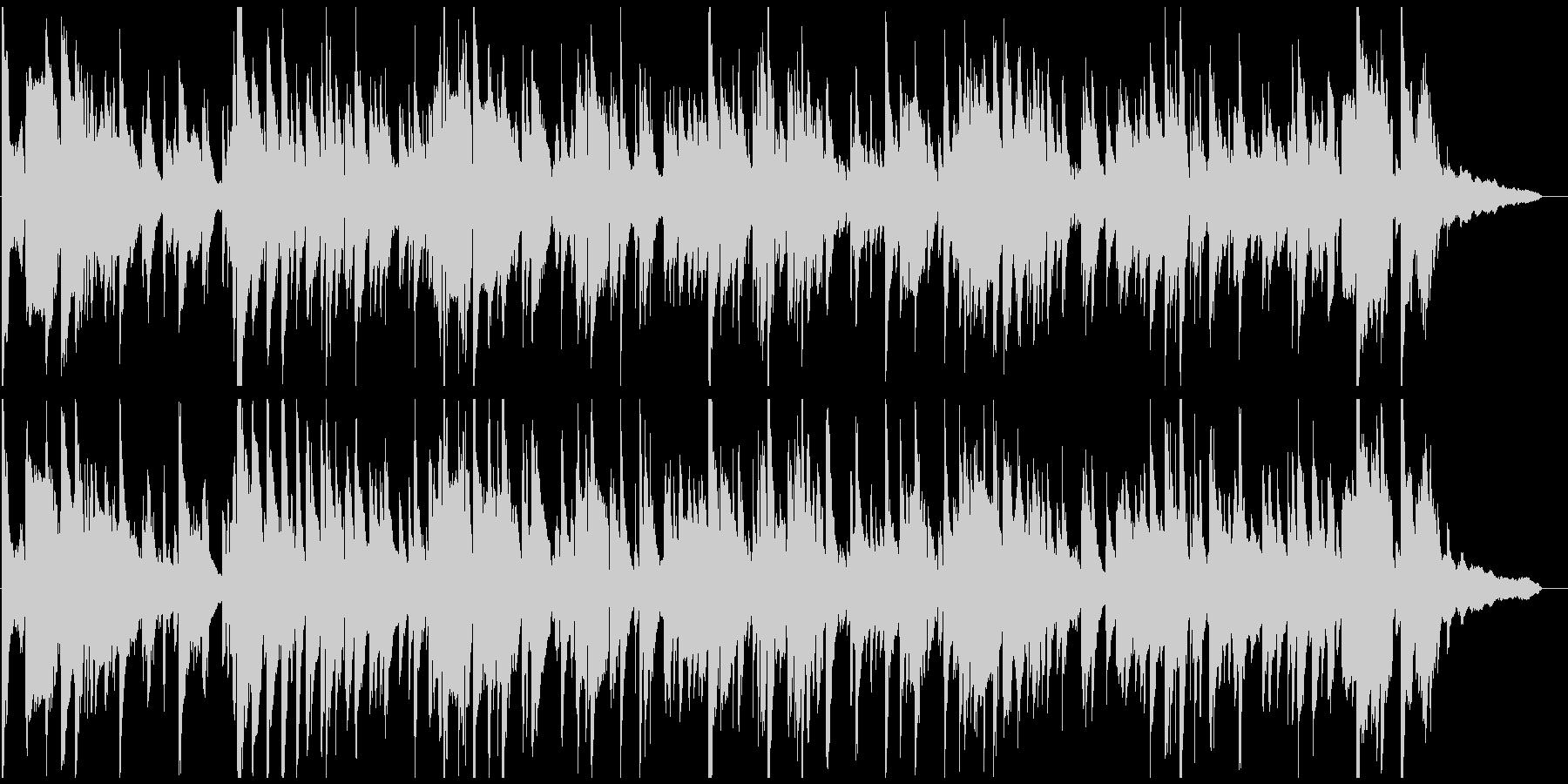 優雅で美しいサックスのジャズバラードの未再生の波形