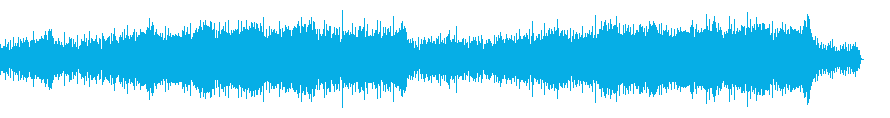 Refreshing dawn, corporate VP, CM, positive's reproduced waveform