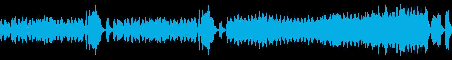 明るいクラシックの再生済みの波形