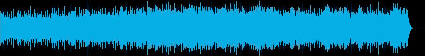 ハロウィンやホラー、少し不気味なBGMの再生済みの波形