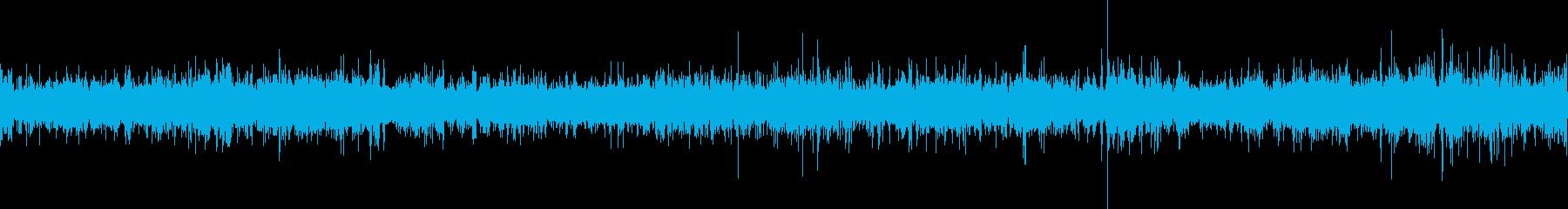 海岸の波音ですの再生済みの波形
