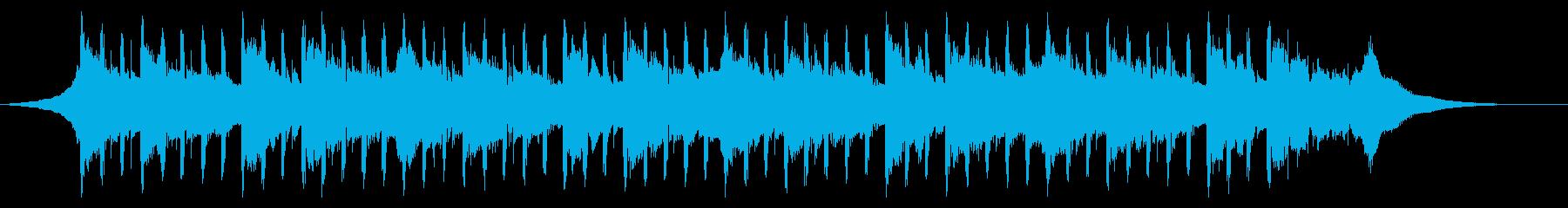 説明者向け(39秒)の再生済みの波形