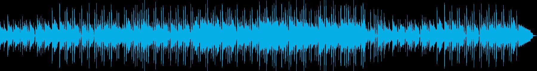 ほのぼのとした温かさのあるポップスの再生済みの波形