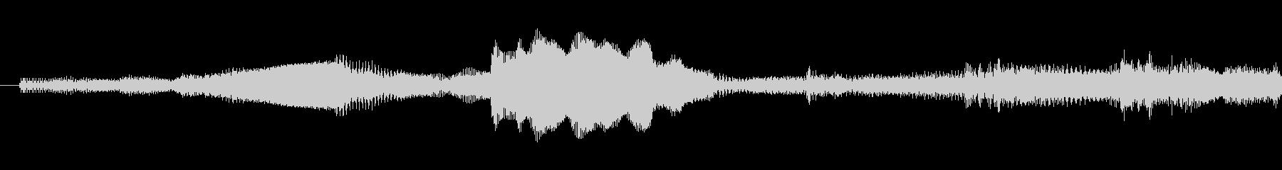 ピポパポ音の未再生の波形
