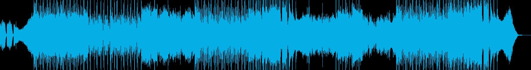 ひどく暗い気持ちにさせるBGMの再生済みの波形