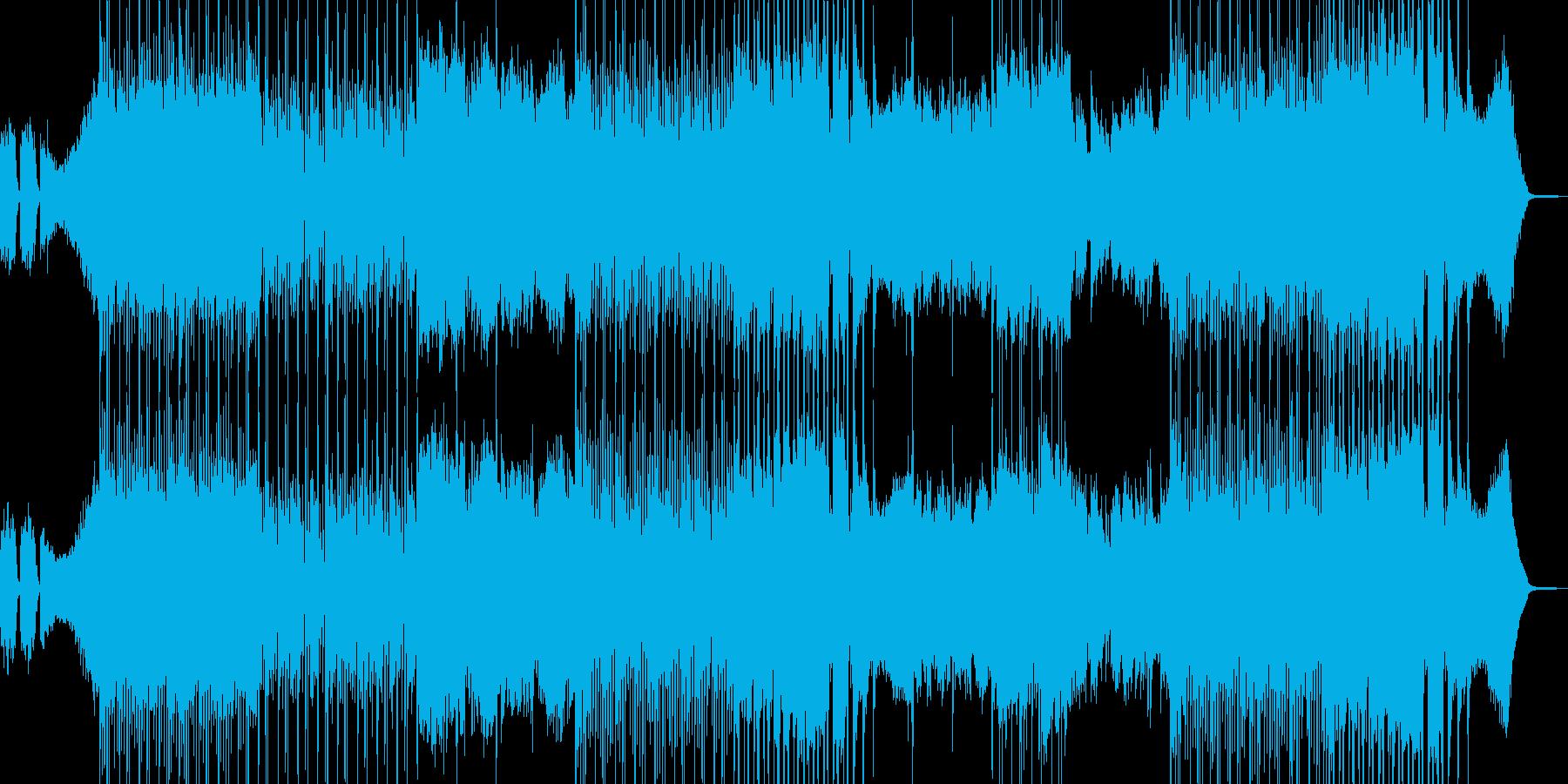 ひどく落ち込んだ気分のBGMの再生済みの波形