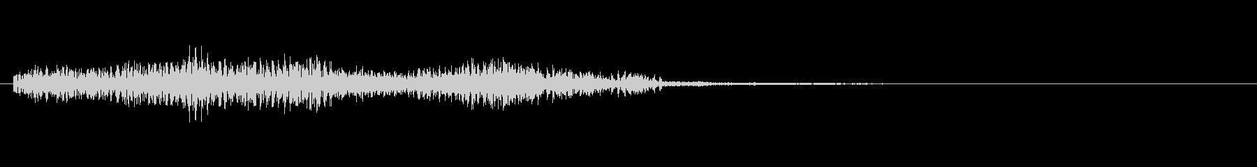 ショッキング(ホラー・ノイズ有り)3の未再生の波形