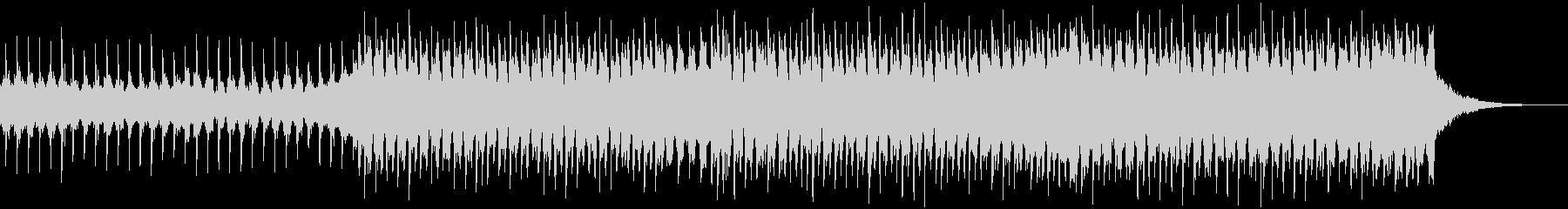 企業VP系155、爽やか4つ打ちハウスHの未再生の波形