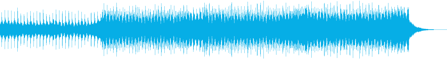 企業VP系155、爽やか4つ打ちハウスHの再生済みの波形