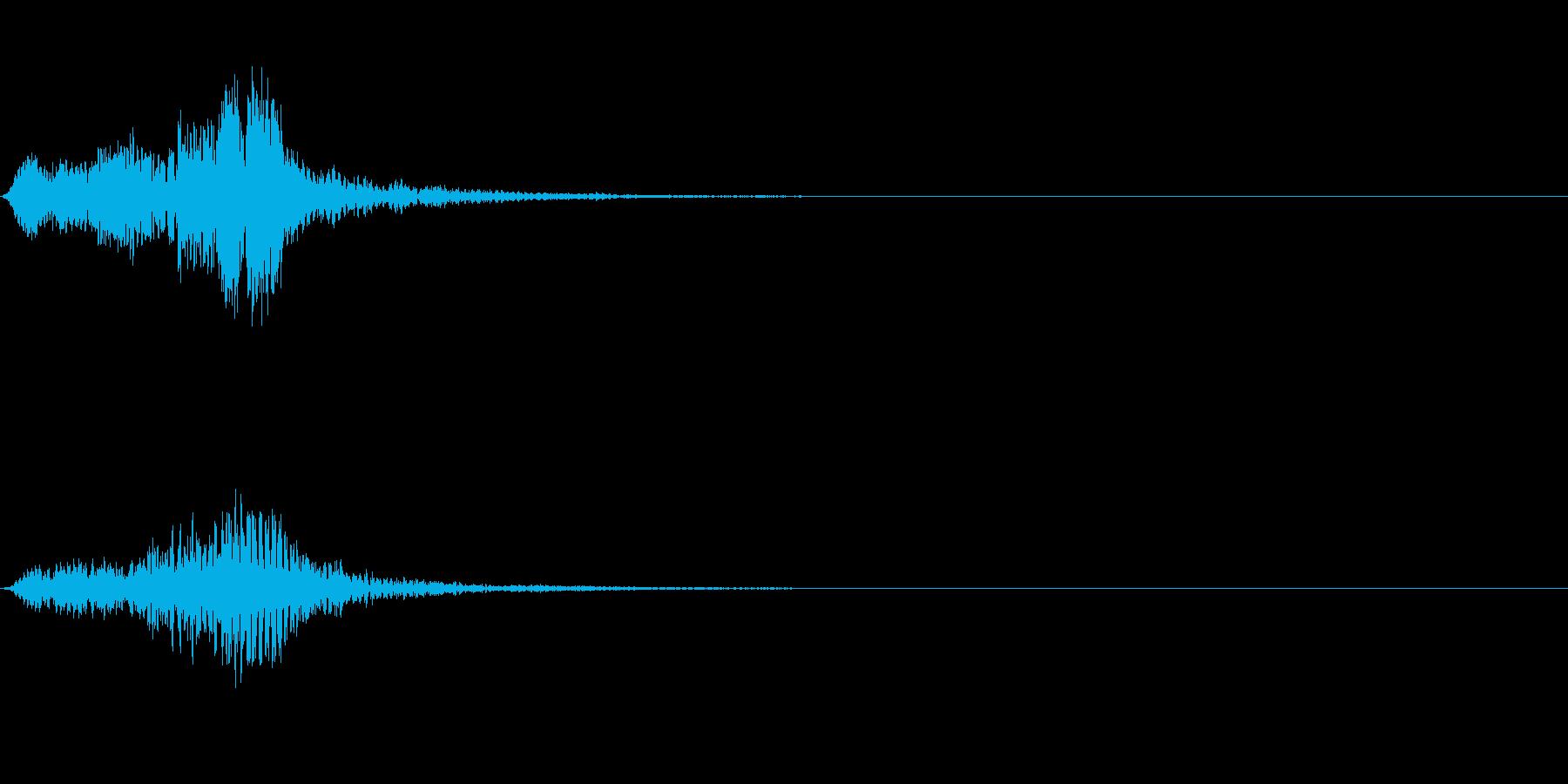 フュロロロロッ↑(フルート駆け上がり)の再生済みの波形
