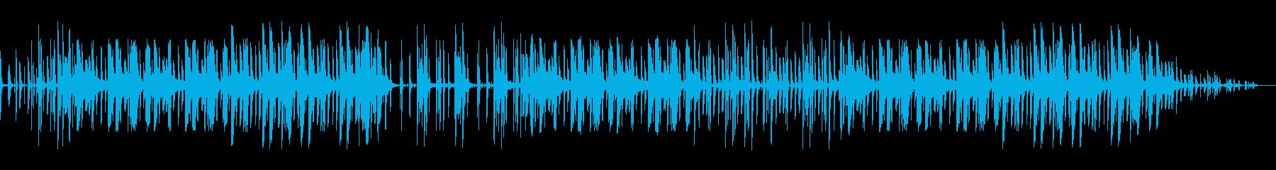 yeah というゆっくりな明るいビートの再生済みの波形