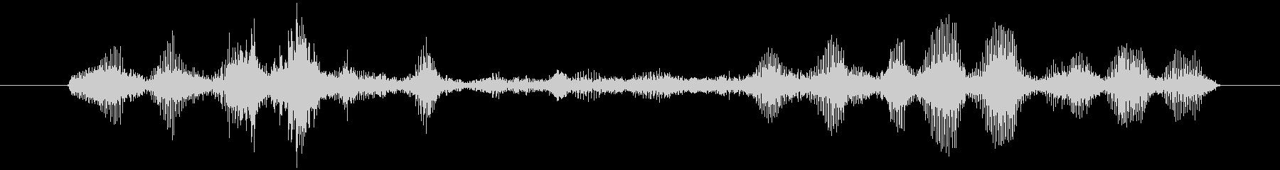 ヤギ Baaingヤギ03の未再生の波形