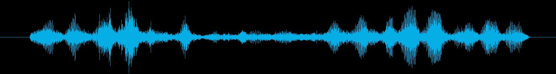 ヤギ Baaingヤギ03の再生済みの波形