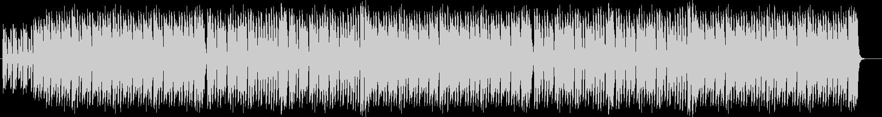 コミカルで、ゆるいハロウィンBGMの未再生の波形