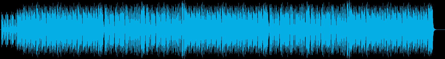 コミカルで、ゆるいハロウィンBGMの再生済みの波形