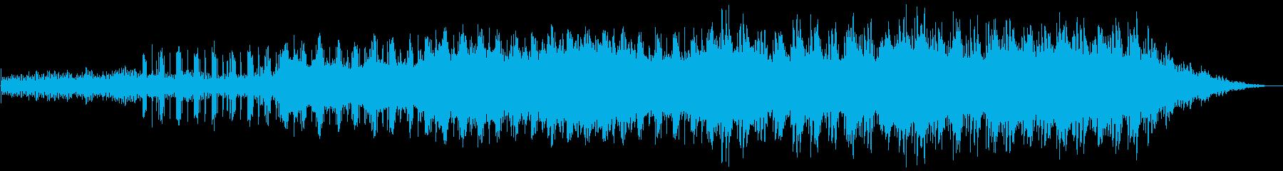 重厚感のあるエレクトロ3の再生済みの波形