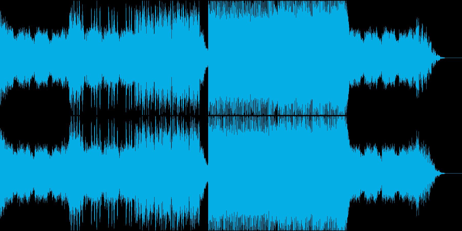 弾けるような可愛さのFutureBassの再生済みの波形