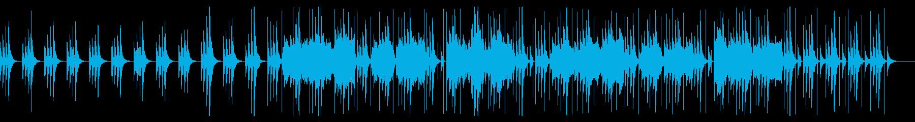 【雰囲気系】ほのぼのしたフルートの曲の再生済みの波形
