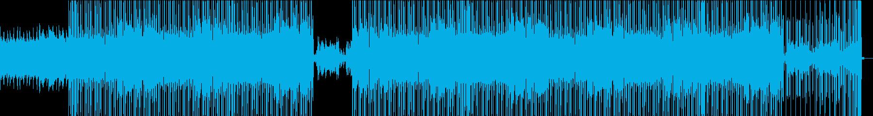 シンセ、オルガン、ピアノ、そして意...の再生済みの波形