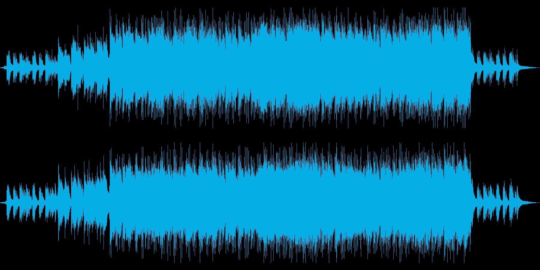 生演奏バイオリン きらきら切ないバラードの再生済みの波形