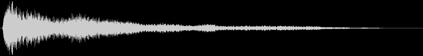 除夜の鐘 (ゴォォォン…)の未再生の波形