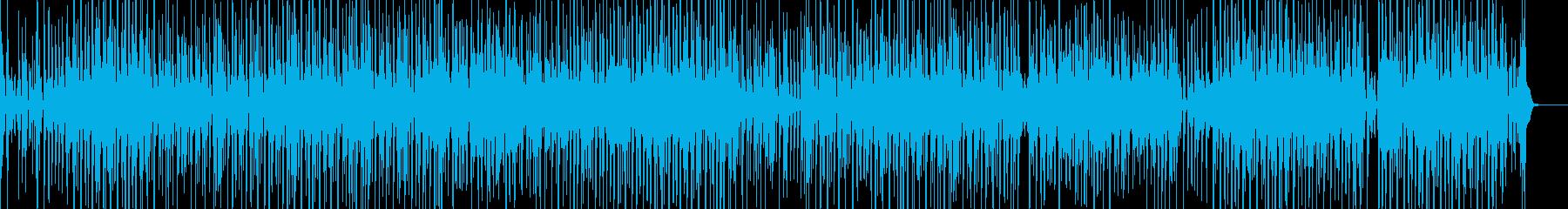 ファンキーな琴・三味線ヒップホップの再生済みの波形