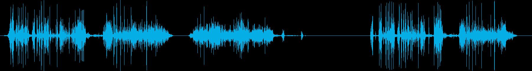 フィクション 電力装置 スパーク13の再生済みの波形