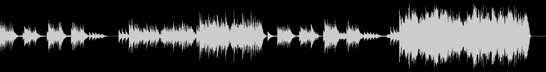 花の季節/悲しき天使(ピアノと弦)の未再生の波形