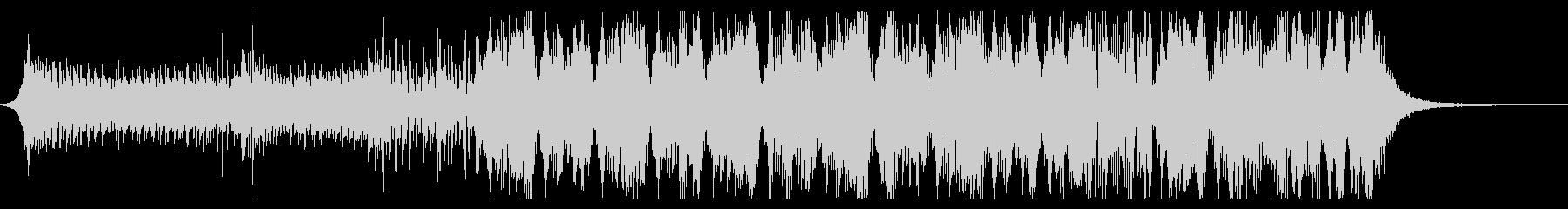 アグレッシブなダブステップの未再生の波形