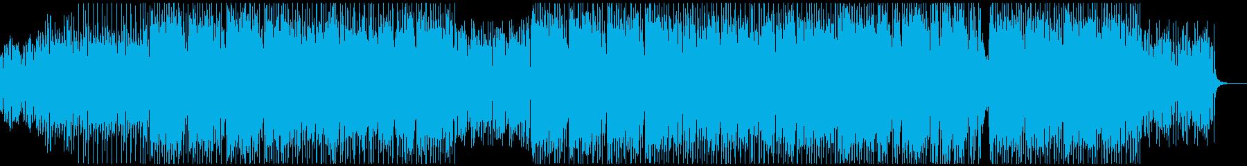 【和風テクノ】ノリノリ・軽快・ダンサブルの再生済みの波形