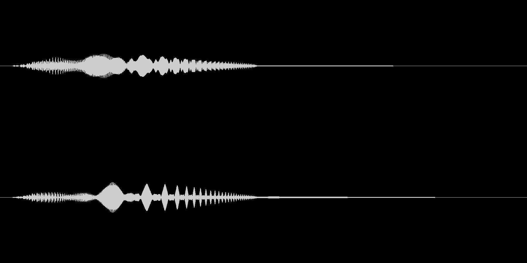MediaFX VTRの始まりの音 2の未再生の波形