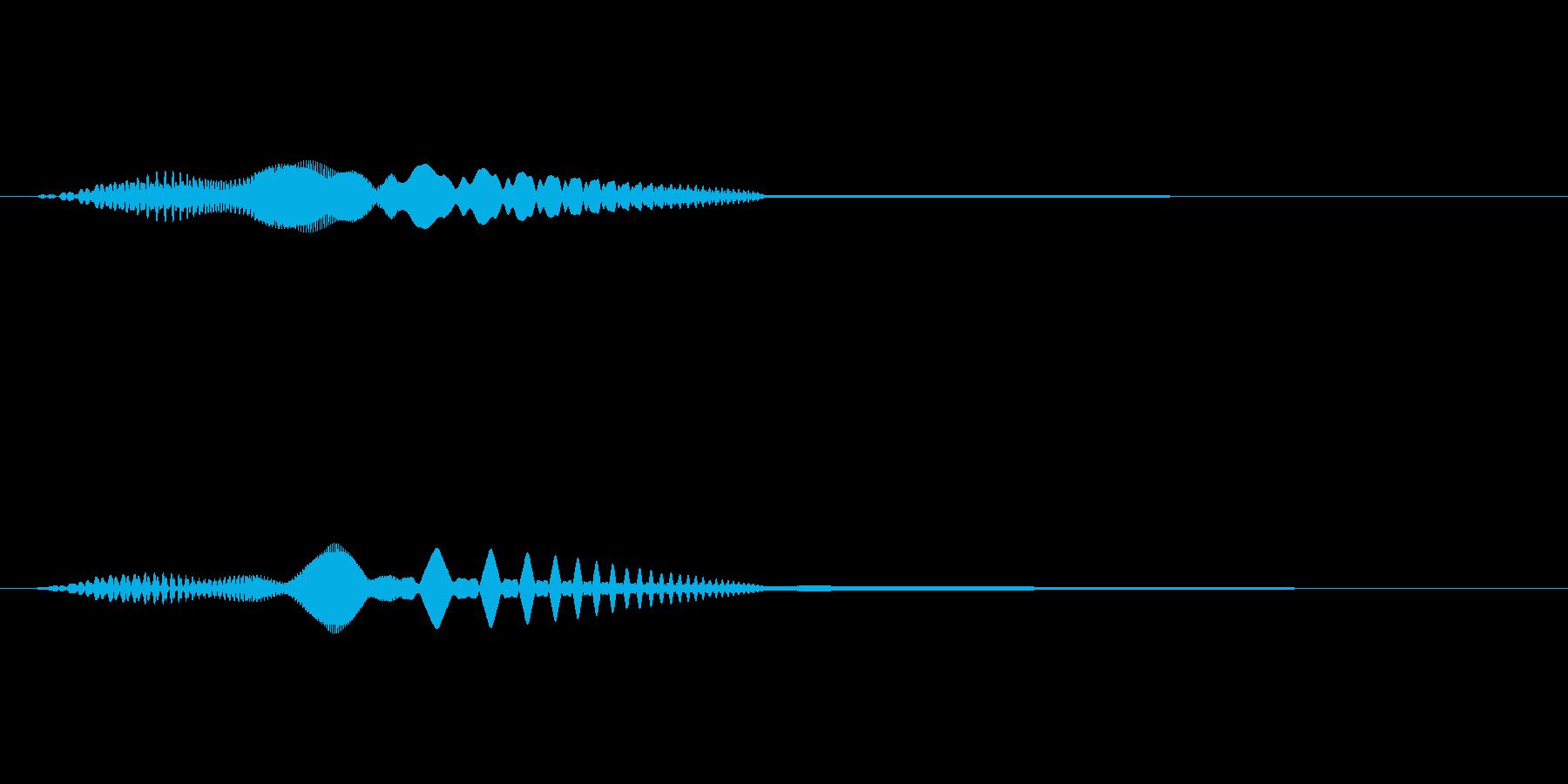 MediaFX VTRの始まりの音 2の再生済みの波形
