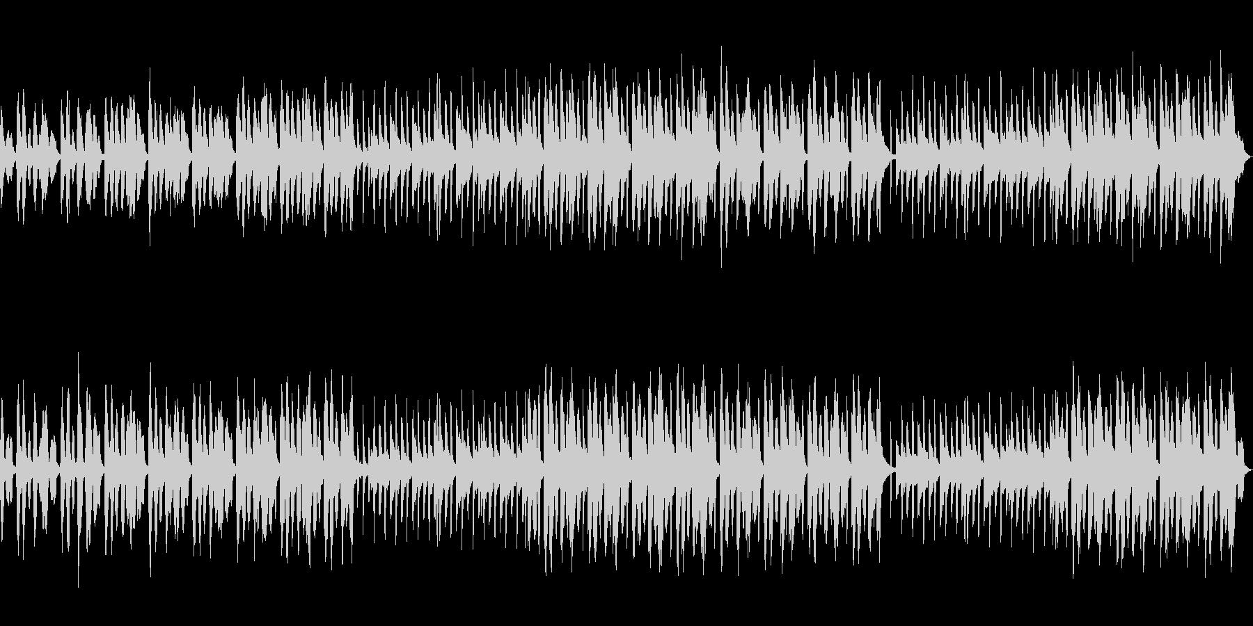 セクシー怪しいシンセBGM1の未再生の波形