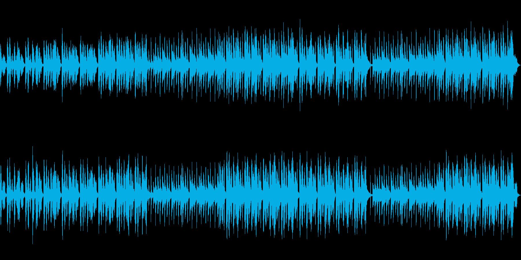 セクシー怪しいシンセBGM1の再生済みの波形