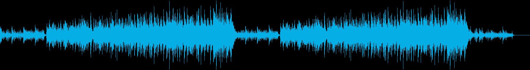 企業VP,映像、動画制作ショートムービーの再生済みの波形