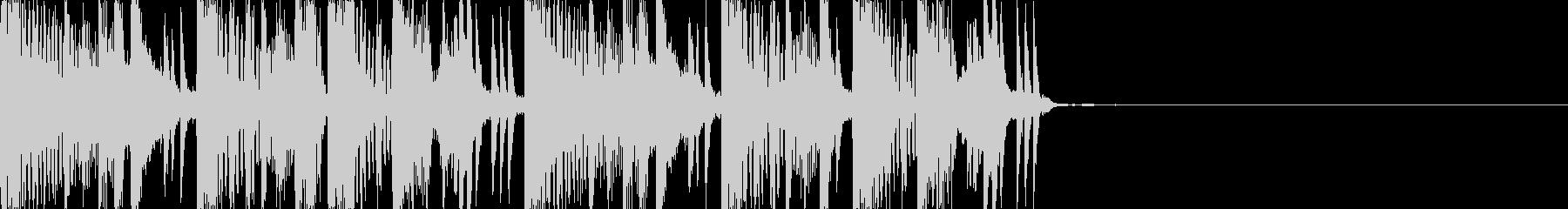 アダルトでムード感あるジングル/BGMの未再生の波形