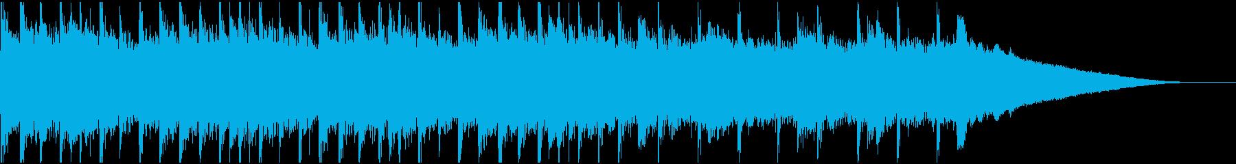 30秒,企業VP29コーポレート,軽快の再生済みの波形