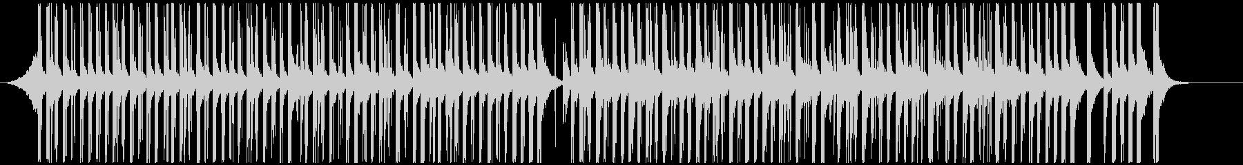 ドラムと手拍子ジングル明るい疾走感(中) の未再生の波形